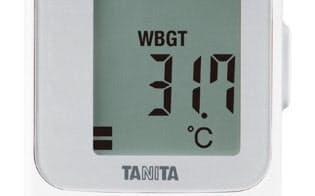 黒球式熱中症指数計「TC-310」(出所:タニタ)