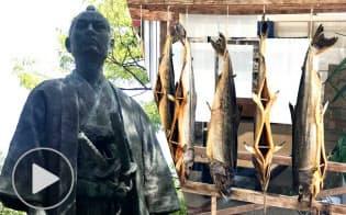 新潟・村上、藩士が守ったサケ文化