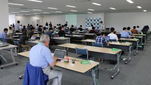 ディスコプログラミングコンテスト@長野2019の会場の様子