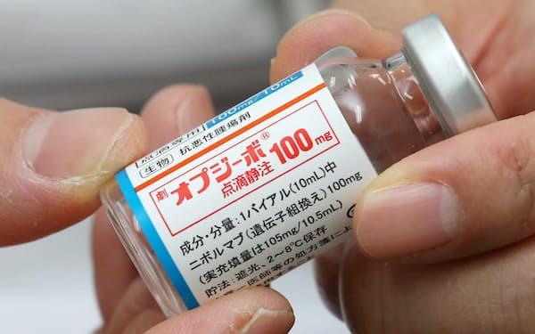 ノーベル生理学・医学賞を受賞した本庶佑氏の研究成果から生み出されたがん免疫治療薬「オプジーボ」