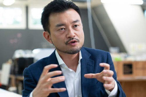 ソニーStartup Acceleration部門の小田島伸至副部門長(撮影:吉成大輔)