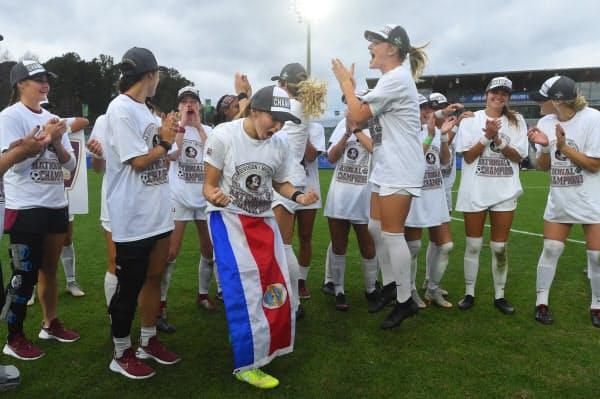 米国ではある法律がサッカーなど女子スポーツを大きく発展させた(2018年12月)=USA TODAY