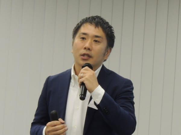 ヴァル研究所の菊池宗史社長