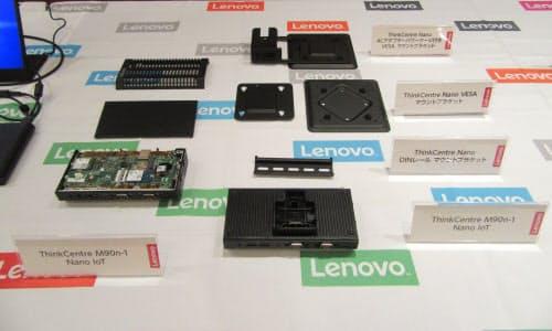 ThinkCentre M90n-1 Nano IoT(撮影:森元美稀)