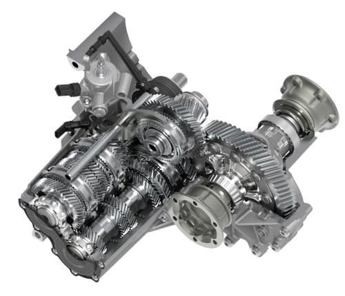 新しい6速手動変速機「MQ281」(写真:フォルクスワーゲン)