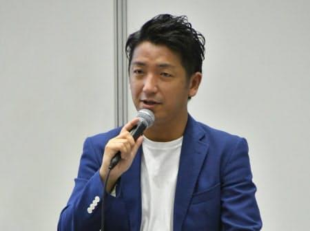 みずほフィナンシャルグループの黒須義一氏(撮影:渡辺可緒理)