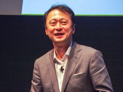 ソフトバンクの宮川潤一副社長(写真:山口健太)