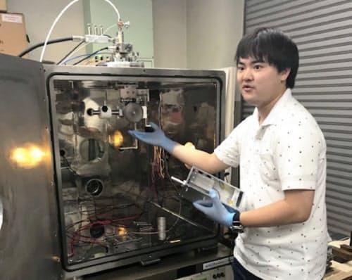わずか25万円で測定機器を作った都立産技高専専攻科2年の小野航大さん