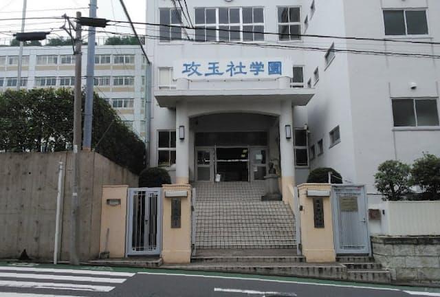 長い伝統を持つ攻玉社の校舎(東京都品川区)。現在の敷地に移ってからも90年以上がたつ
