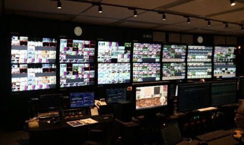 新たに稼働した東放送センター