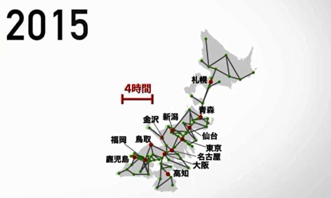 日本が縮んだ? データで追う「1964年と今」: 日本経済新聞