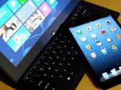 「iPad」が独壇場の市場に殴り込みをかける「ウィンドウズ8」タブレット