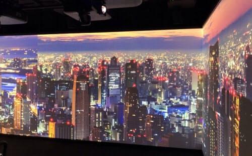 SAP Leonardo Experience Center TokyoのImmersive Experienceルーム