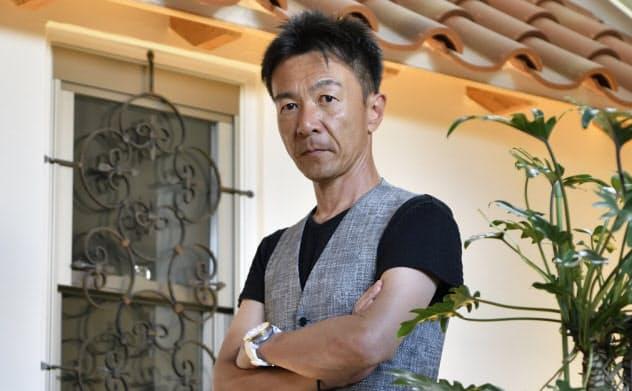Jpキュービックの伊藤雅彦社長(写真:森田直希)