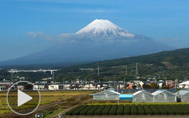 新幹線の車窓から見?#30382;撙毪取?#27839;線風景よもやま話