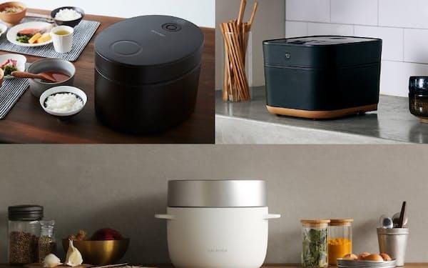 機能だけでなくデザインにもこだわった最新炊飯器を紹介する