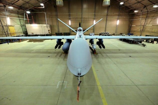 米空軍の無人機=ロイター
