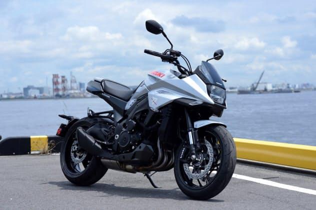 スズキの新型「KATANA(カタナ)」価格は151万2000円(消費税込み、リサイクル費用を含む)