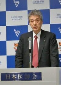 健保連による政策提言を批判する日医の松本吉郎氏