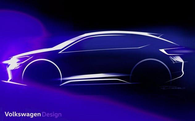 フォルクスワーゲンが「ニュー・アーバン・クーペ」と呼ぶ新型車(出所:フォルクスワーゲン)