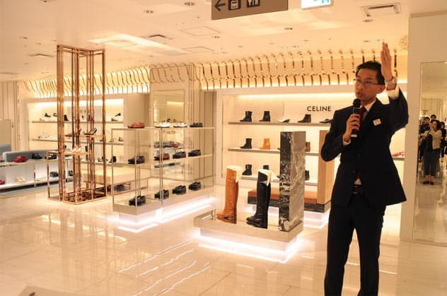 婦人靴フロア、ジュエリーショップがリフレッシュオープンした伊勢丹新宿本店本館