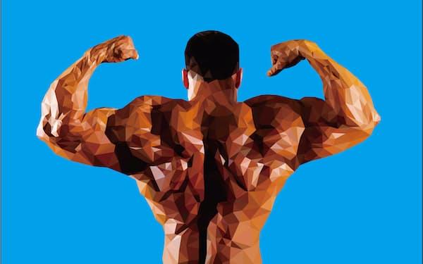 2020年の東京五輪では「遺伝子ドーピング」で人体を改良されたアスリートが出場する可能性はあるのか。バイオテクノロジーの専門誌が検証した(イラスト:水谷慎吾)