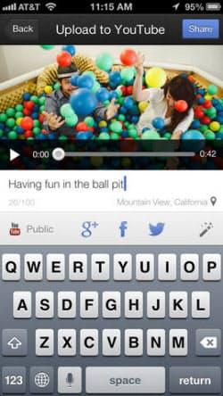 YouTube Captureの画面