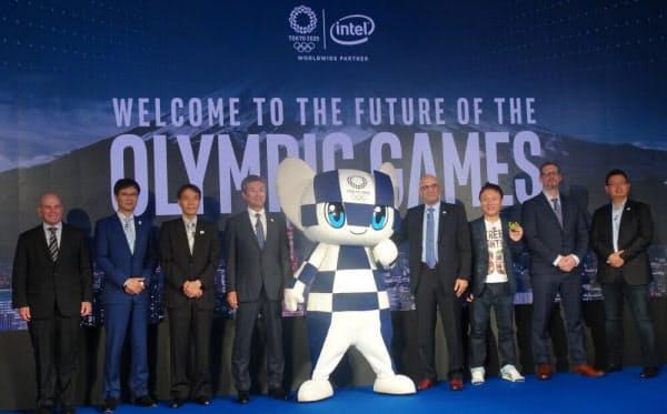 インテル日本法人が東京五輪に関するイベントを開催した(撮影:日経 xTECH)