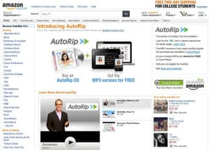 AutoRipのページ