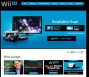 「Wii U」公式ページ(英語版)