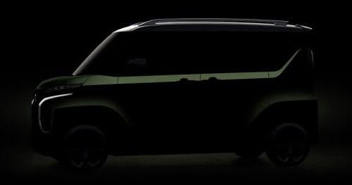 軽自動車のコンセプト車(出所:三菱自動車)