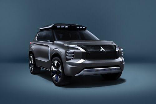 中型の電動SUVコンセプト車(出所:三菱自動車)