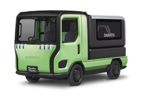 モノの移動を支援するコンセプト車「TsumuTsumu」(出所:ダイハツ工業)