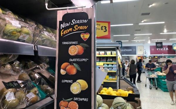 寒冷な英国は果物や野菜の供給をEUに依存する