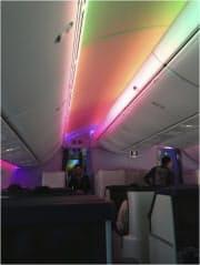 出張で搭乗した「幻のB787フライト」。帰りの便はありませんでした(筆者撮影)