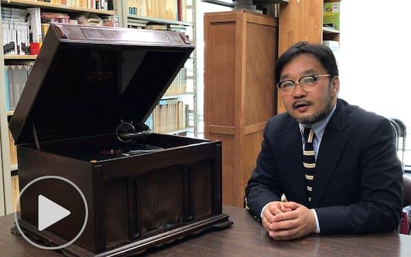 近代日本の文学者が聴いた西洋音楽 蓄音機で追体験