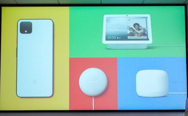 グーグルがハードウエアデザインの背景を解説した(撮影:山口健太)