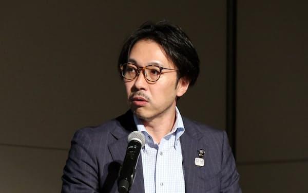 東京都で自動運転推進を担当する前林一則先端事業推進担当課長