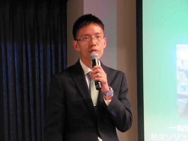日本気象協会先進事業課商品需要予測プロジェクトの吉開朋弘技師