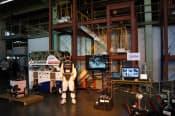 災害対応無人化システム研究開発プロジェクトでの成果発表会(2月、千葉県習志野市の千葉工大)