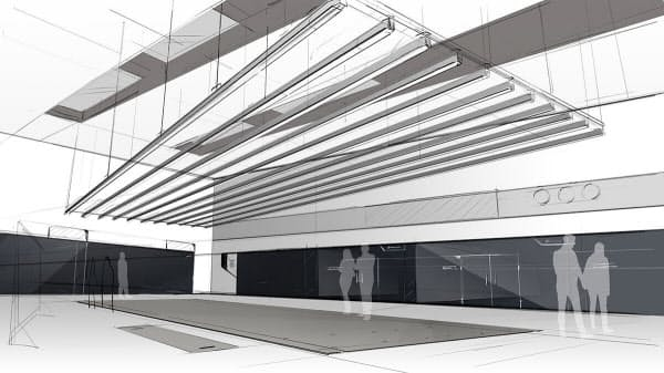 カルマ・オートモーティブが建設中のデザインスタジオのイメージ(写真:カルマ・オートモーティブ)