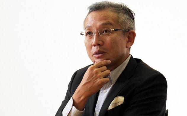 プロパティデータバンクの板谷敏正社長(撮影:新関雅士)