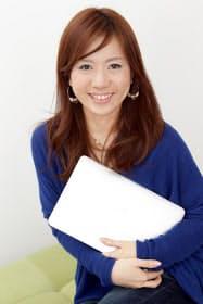 第一コミュニティ事業部の山崎ひとみ事業部長。「アメーバピグ」をはじめ、10以上のサービスを立ち上げた「女子プロデューサー」の筆頭格