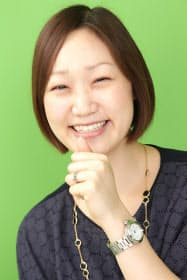 サイバー子会社、パシャオクの石田裕子社長。広告営業時代は売り上げ、粗利別の個人表彰を計12回もらうなど、成績は飛び抜けていた