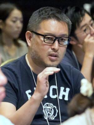 メルカリの長谷川秀樹執行役員CIO(撮影:井上康裕)