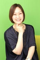 サイバー子会社、パシャオクの石田裕子社長。広告営業時代は輝かしい実績を残した。(写真=陶山勉、以下同)