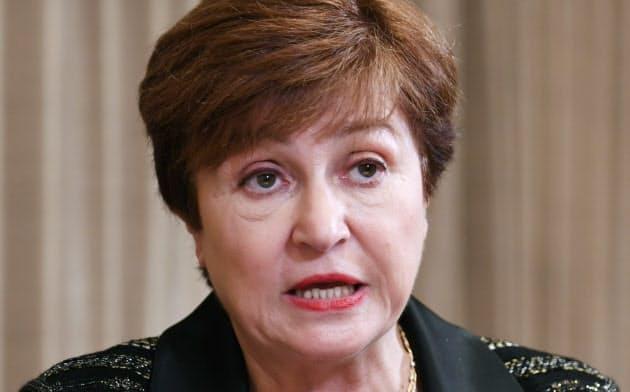 IMFのクリスタリナ・ゲオルギエバ専務理事