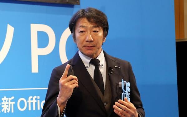 日本マイクロソフトの檜山太郎執行役員常務