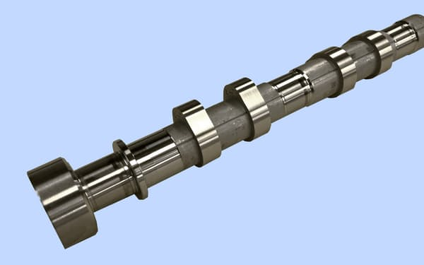 品質保証の対象とするエンジン用カムシャフト(出所:富士通、スバル)