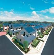 ミサワホームは、国内クレジット制度に基づいて太陽光発電システムなどを設置した住宅が削減したCO2排出量をクレジット化している